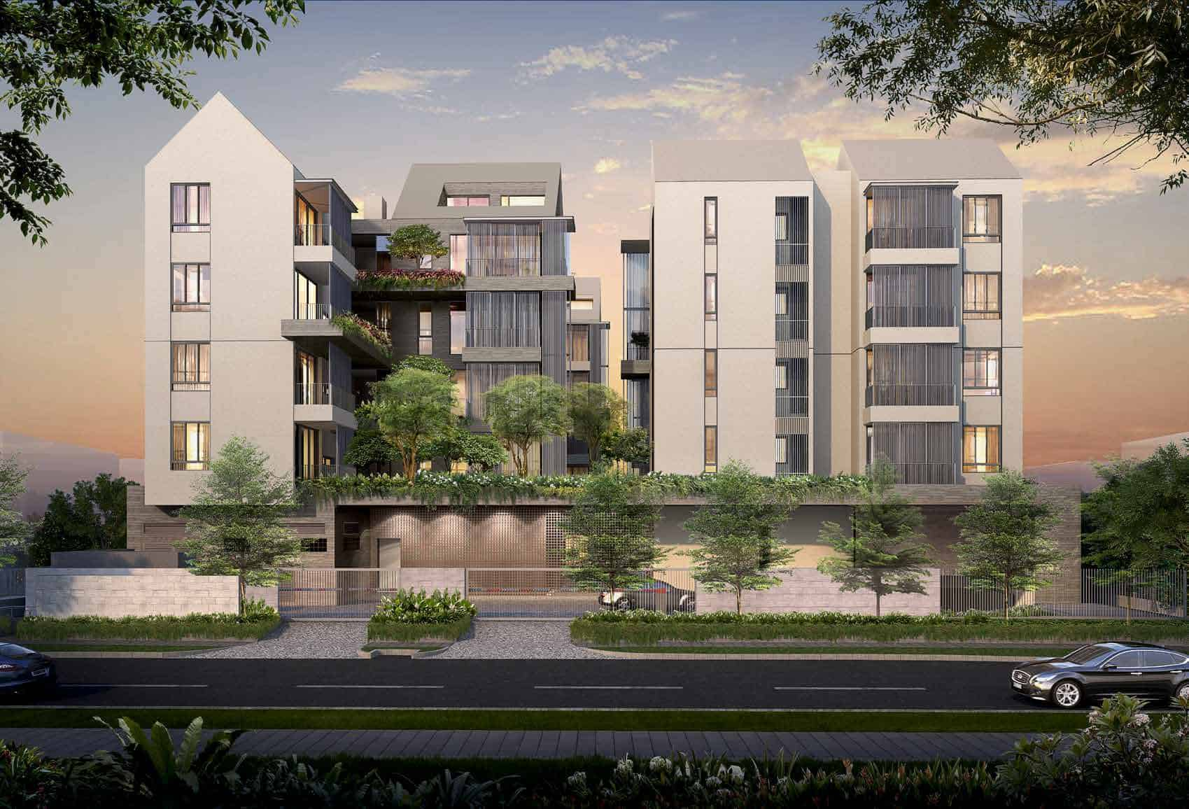 10 Evelyn - 10 Evelyn is a 56 unit residential development